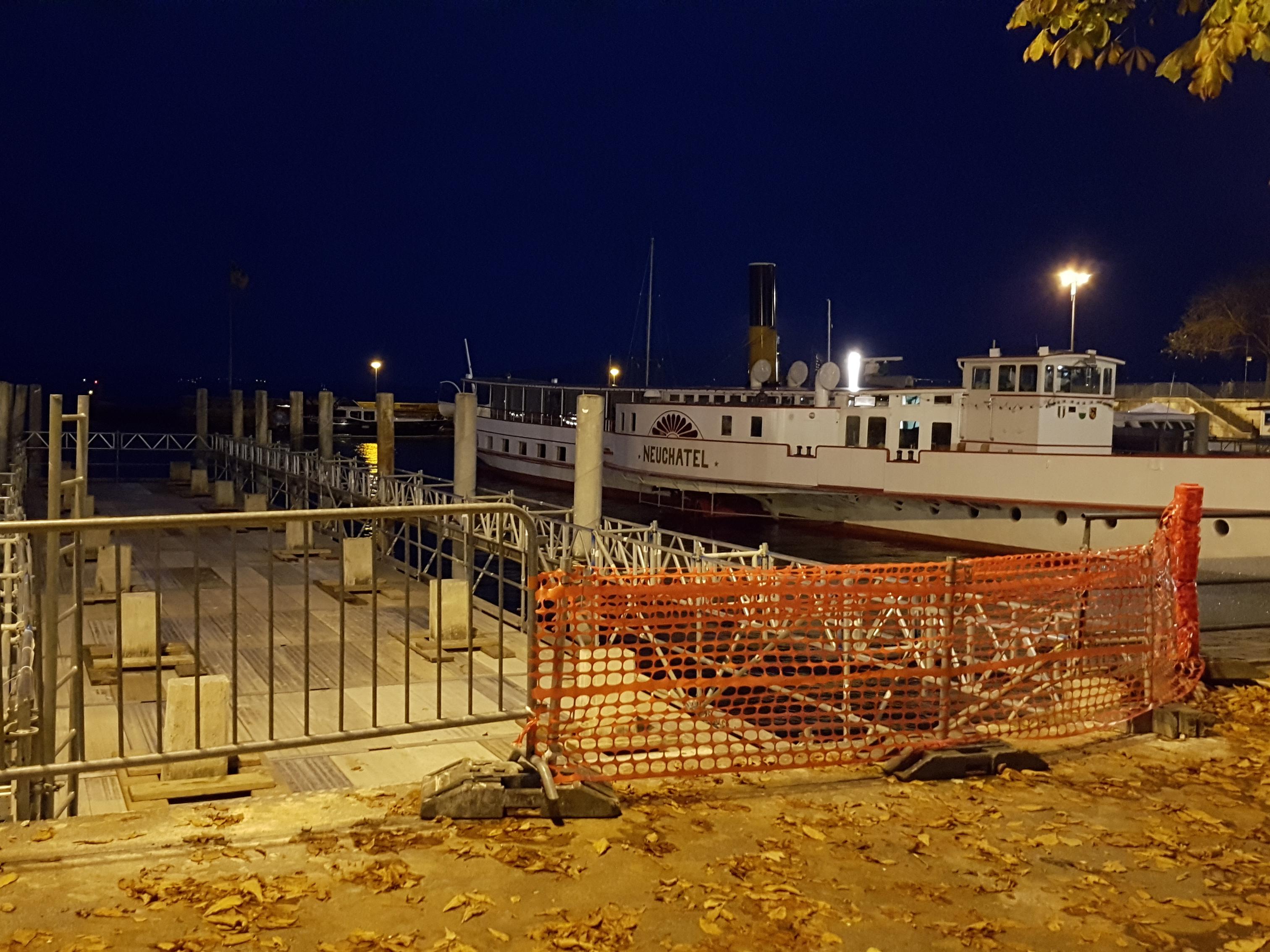 Débarcadères de la CGN - Neuchâtel